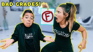 Download TELLING MY MOM I GOT BAD GRADES! *BAD REACTION* | The Royalty Family Video