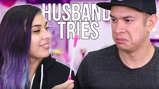 Download Husband Tries Women's Products ROUND 2 Video