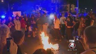 Download Trump tweet reignites flag burning ban in SWFL Video