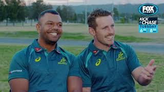 Download Rugby Kick and Chase - Bernard Foley and Kurtley Beale Video