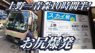 Download 【地獄の最長昼行高速バス】スカイ号に乗ってきた。 Video
