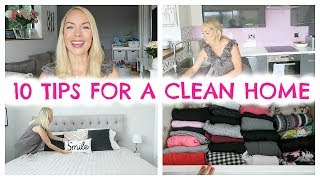 Download 10 TIPS FOR A CLEAN HOME | HABITS FOR KEEPING A CLEAN HOUSE Video