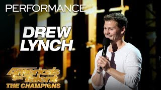 Download Drew Lynch: Hilarious Comedian Tells The MOST Relatable Story - America's Got Talent: The Champions Video