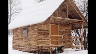 Download How we Built Log House (Cabin) in One Month Video