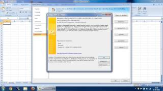 Download How to Check MS Office Version and Edition in MS Office 2007 Video
