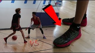 Download LSK vs LaMelo Ball EVERYONE GETS DUNKED ON! NEW BBB SHOE REVEAL! 5v5 Basketball Video
