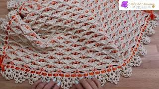 Download Colcha Manta Crochet para Bebe Video