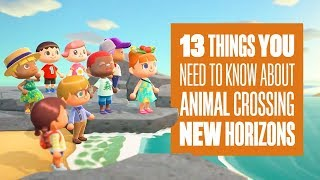 Download Animal Crossing: New Horizons Gameplay - 13 Things You Need To Know About Animal Crossing Switch Video
