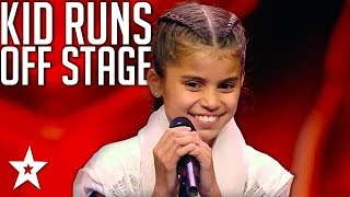 Download Little Girl Runs Off Stage! Judges Are Shock At What Happens Next! Video
