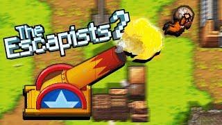 Download GIANT CANNON Circus ESCAPE - Escaping Clown Prison! - The Escapists 2 Big Top Breakout Update Video