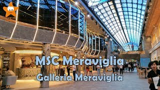 Download MSC Meraviglia Galleria Meraviglia QHD 2017 @CruisesandTravelsBlog Video