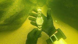 Download Scuba Diving for a Missing $15,000 Diamond Rolex! (Unbelievable Find) Video