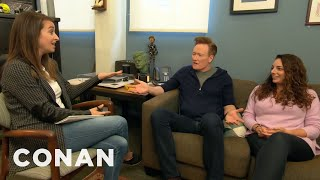 Download Conan & Sona Meet With Human Resources - CONAN on TBS Video