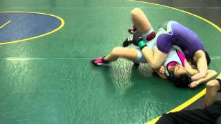 Download Skylar's Third Pin @ Cypress Creek All Girls Wrestling Tournament 2013 Video