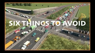 Download SIX THINGS TO AVOID IN CITIES SKYLINES From A Town Planner Video