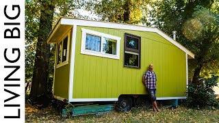 Download 70 Year Old Builds Innovative Off-Grid Tiny House For Debt Free Retirement Video