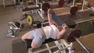 Download Amputee athlete Carmen doing sports Video