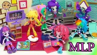 Download My Little Pony Equestria Girls Mini Dolls Elements of Friendship + Slumber Party Set Video