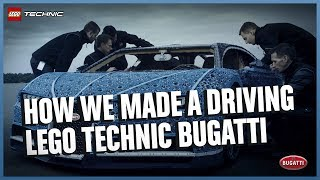 Download See how it was made - The Amazing Life-Size LEGO Technic version of the Bugatti Chiron Video