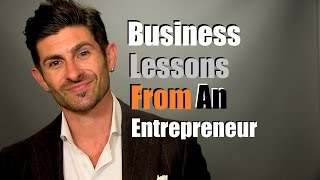 Download 10 Business Lessons I Learned As An Entrepreneur Video