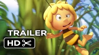 Download Maya the Bee Movie Official Trailer 1 (2015) - Kodi Smit-McPhee Animated Movie HD Video
