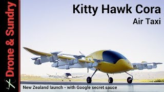 Download Kitty Hawk Cora flying taxi for New Zealand Video
