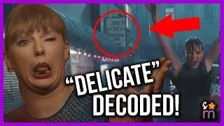 Download Taylor Swift ″Delicate″ Music Video DECODED! Meaning, Easter Eggs, Hidden Messages Video