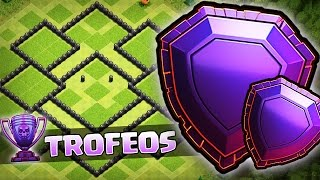 Download ¡¡NEW BEST TOWN HALL 8 TROPHY/TROLL BASE!! - ALDEA PARA TH8 SUBIDA DE COPAS - CLASH OF CLANS Video