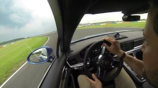 Download New 2017 Porsche Panamera Turbo hotlap track race Video