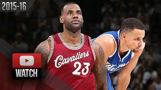Download Stephen Curry vs LeBron James Xmas Battle Highlights (2015.12.25) Warriors vs Cavaliers - EPIC! Video