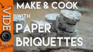 Download Making and Cooking with Paper Briquettes Video