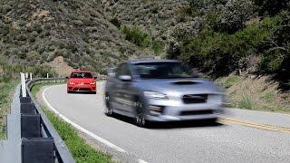 Download Volkswagen Golf R vs. Subaru WRX STI - AWD Performance Review - Everyday Driver Video