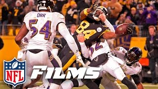 Download Antonio Brown's Immaculate Extension Wins AFC North (Week 16) | NFL Turning Point Video
