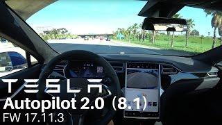 Download TESLA Autopilot 2.0 (8.1) - FW 17.11.3 Video