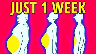 Download 4 Steps to Lose Belly Fat in 1 Week Video