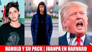 Download Harold Azuara y su pack | Juanpa Zurita en Harvard | Trump firma el muro Video