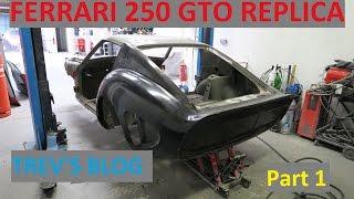 Download Ferrari 250 GTO Replica Build project Trev's Blog Part 1 Video