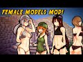 Download Minecraft Mods - SEXY GIRLS MOD (Cute Female Mobs!) Video