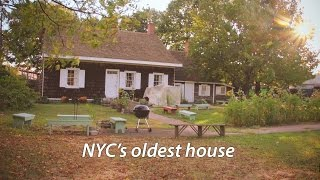 Download The oldest house of New York City - (is older than you think) Video