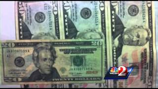 Download PD: Tattoo artist used skills to make counterfeit bills Video