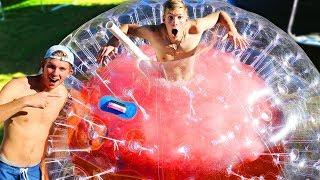 Download 2000 Pound DIY GIANT Slushy Ball (POLAR PLUNGE CHALLENGE) Video