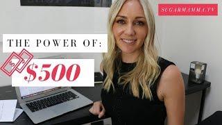 Download The Power of $500: Turn it into $6,211, $12,331, $39,000, $109,528 || SugarMammaTV Video
