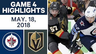 Download NHL Highlights | Jets vs. Golden Knights, Game 4 - May 18, 2018 Video