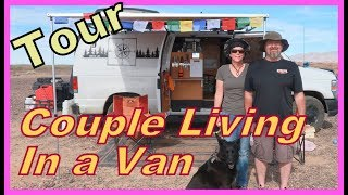 Download TOUR of a Couple Living in a Van: Ann and Guy Video