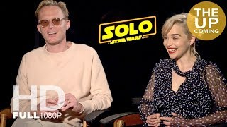 Download Paul Bettany and Emilia Clarke ultimate Solo: A Star Wars Story interview Video