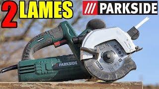 Download PARKSIDE Scie à double lame LIDL PDBG 125 A1 Twin Blade Circular Doppelblattsäg Video