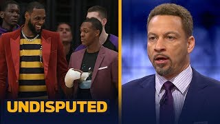 Download Chris Broussard on Lakers' season outlook with LeBron and Rondo returning | NBA | UNDISPUTED Video
