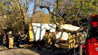 Download Deadly school bus crash in Tennessee Video