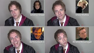 Download HARRY POTTER IMPRESSIONS! (Hagrid, Draco, Snape, Harry, McGonagall) Video