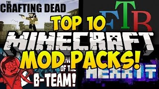 Download TOP 10 BEST MINECRAFT MODPACKS! (Minecraft Mods, Minecraft Top 10 Mod Packs, Minecraft Modded) Video